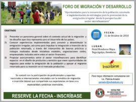 Foro de Migración y Desarrollo